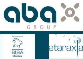 aba Biba Atraxia insurance logos